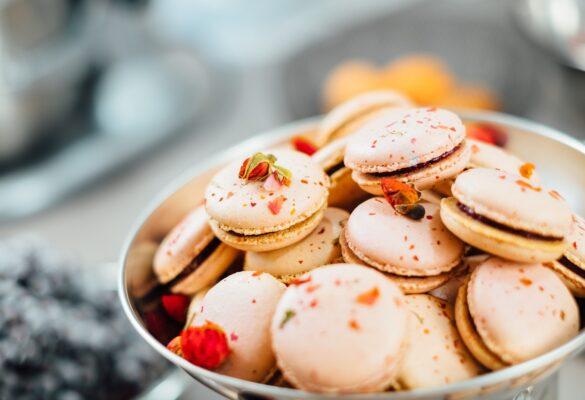 receitas de macarons